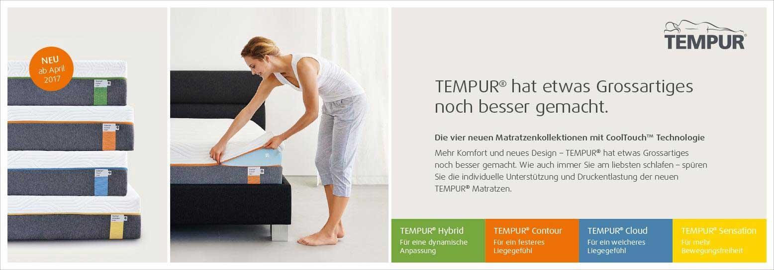 tempur guter schlaf beginnt genau hier probeliegen bei. Black Bedroom Furniture Sets. Home Design Ideas